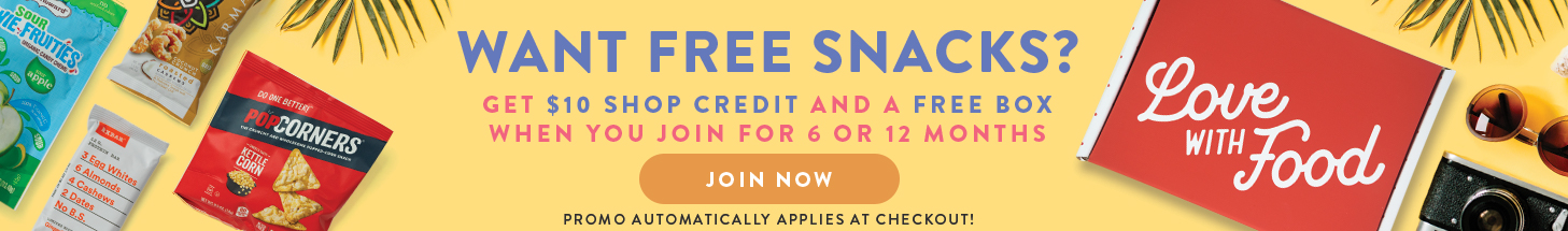 Get $10 shopping credit and a free box when you join for 6 or 12 months. Promo applies automatically at checkout. (Offer ends July 7th)