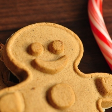 Special! White Chocolate Gingerbread Boy Cookies