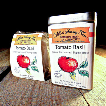 Tomato Basil Sipping Broth