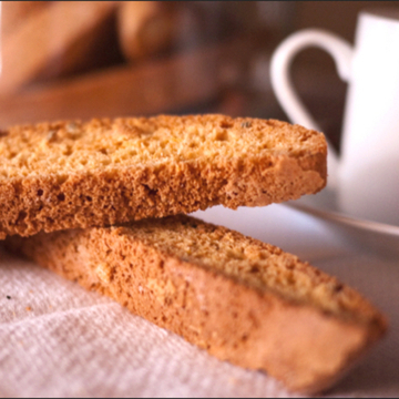 Authentic Almond Biscotti