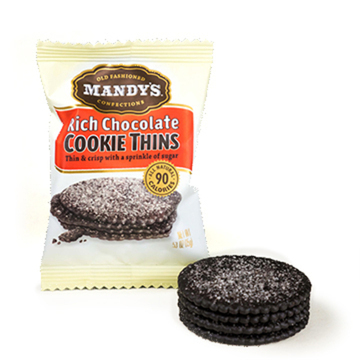 Rich Chocolate Cookie Thins