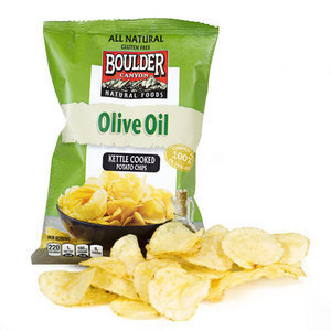 Olive Oil Totally Natural Kettle Chips