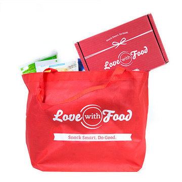 Love With Food Tote Bags