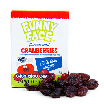 Choo Choo Cherry Flavored Dried Cranberries