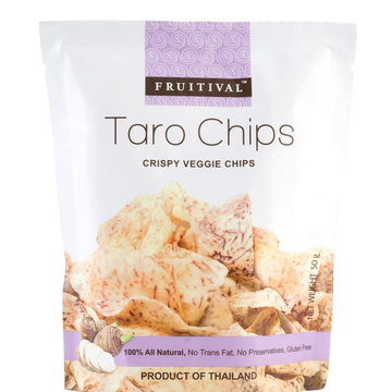 Taro Chips by Fruitival - Snack Shop | Love With Food