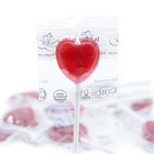 Organic Heart-Shaped Lollipops