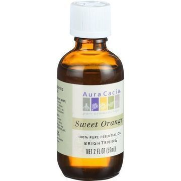 Aura Cacia - Essential Oil - Brightening Sweet Orange - 2 oz