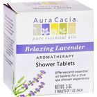 Aura Cacia - Aromatherapy Shower Tablets Relaxing Lavender - 3 Tablets