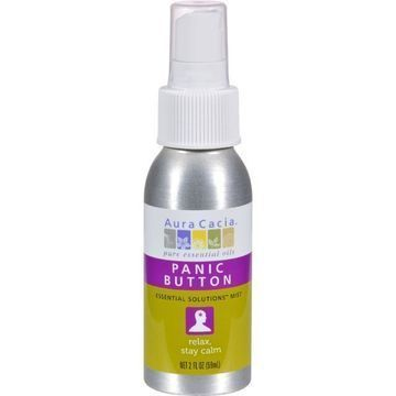 Aura Cacia - Essential Solutions Mist Panic Button - 2 fl oz