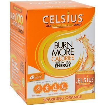 Celsius sparkling orange