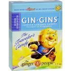 Ginger People Gingins Super Boost Candy - Case of 24 - 1.1 oz