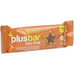 Greens Plus Protein Bar - Peanut Butter and Chocolate - 2.08 oz Bars - Case of 12