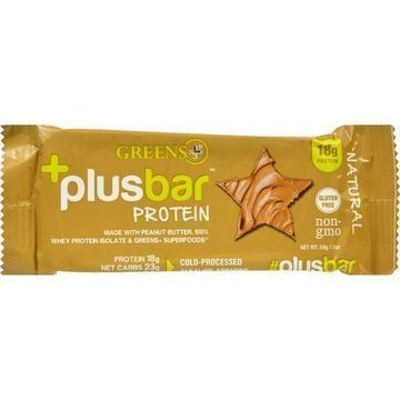 Greens Plus Protein Bar - Natural - 2.08 oz - Case of 12