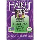 Haiku Tea - Organic - Kukicha Twig - 16 bags - case of 6