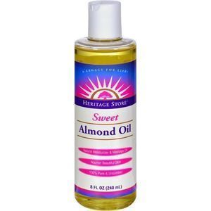 Heritage Products Sweet Almond Oil - 8 fl oz