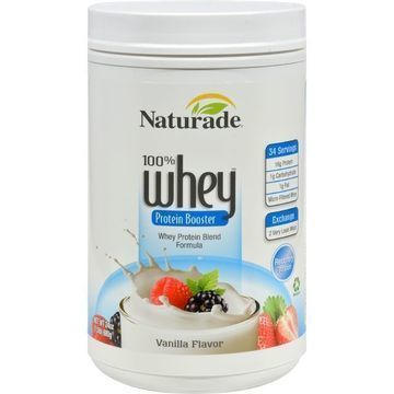 Naturade Whey Protein Booster Vanilla - 24 oz