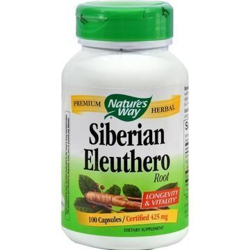 Image result for Nature's Way - Siberian Eleuthero