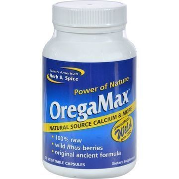 North American Herb and Spice OregaMax - 90 Vegetable Capsules