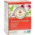 Traditional Medicinals Seasonal Herb Tea Sampler - 16 Tea Bags - Case of 6
