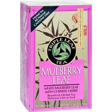 Triple Leaf Tea - Mulberry Leaf - 20 Tea Bags - 1 Case