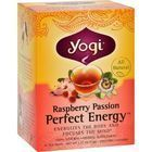 Yogi Perfect Energy Herbal Tea Raspberry Passion - 16 Tea Bags - Case of 6