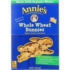 Annies Homegrown Crackers - Whole Wheat Bunnies - 7.5 oz - case of 12
