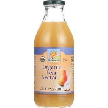 Bionaturae Fruit Nectar - Orangic - Pear - 25.4 oz - case of 6