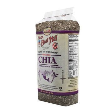 Bob's Red Mill Chia Seeds - 16 oz - Case of 4