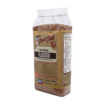Bob's Red Mill Raw Whole Brown Flaxseed - 24 oz - Case of 4