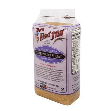 Bob's Red Mill Coarse Turbinado Sugar - 28 oz - Case of 4