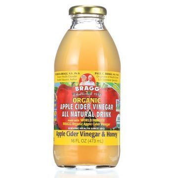 Bragg Apple Cider Vinegar Drink - Organic - ACV and Honey - 16 oz - case of 12