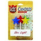 Cake Mate - Birthday Party Candles - Star Light - 6 Count - Case of 6