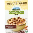 Cascadian Farm Granola - Organic - Dark Chocolate Almond - 13.25 oz - case of 6