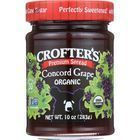 Crofters Fruit Spread - Organic - Premium - Concord Grape - 10 oz - case of 6
