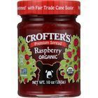 Crofters Fruit Spread - Organic - Premium - Raspberry - 10 oz - case of 6