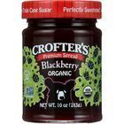 Crofters Fruit Spread - Organic - Premium - Blackberry - 10 oz - case of 6