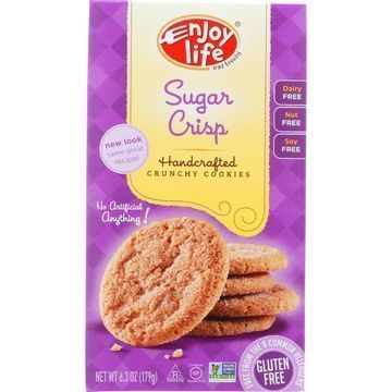 Enjoy Life - Cookie - Crunchy - Sugar Crisp - Crunchy - Gluten Free - 6.3 oz - case of 6
