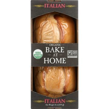 Essential Baking Company Bread - Organic - Bake at Home - Italian - 16 oz - case of 12