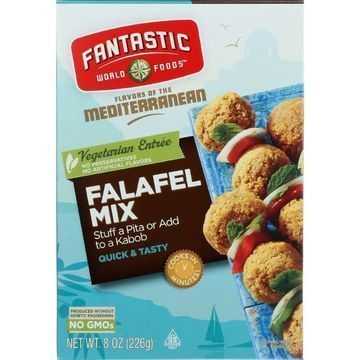 Fantastic World Foods Mix - Falafel - 8 oz - case of 6
