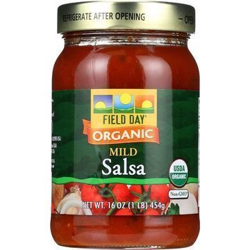 Field Day Salsa - Organic - Garden Cilantro - Mild - 16 oz - case of 12