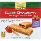 Field Day Snack Bars - Organic - Multi-Grain - Filled - Sweet Strawberry - 6/1.3 oz - case of 6
