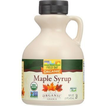 Field Day Maple Syrup - Organic - Grade B - 16 oz - case of 12