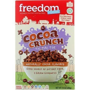 Freedom Foods - Cereal - Cocoa Crunch - Gluten Free - 10 oz - case of 5