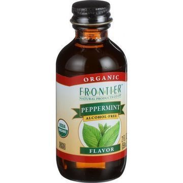 Frontier Herb Peppermint Flavor - Organic - 2 oz