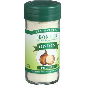 Frontier Herb Onion - Powder - White - 2.08 oz