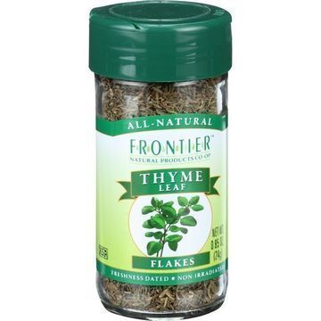 Frontier Herb Thyme Leaf - Flakes - Cut and Sifted - Fancy Grade .85 oz