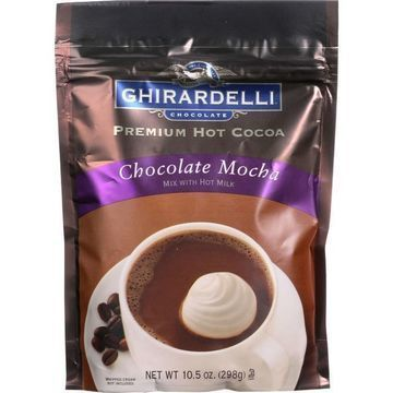 Ghirardelli Hot Cocoa - Premium - Chocolate Mocha - 10.5 oz - case of 6