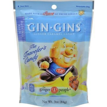 Ginger People Gingins Super Candy Bags - Case of 24 - 3 oz