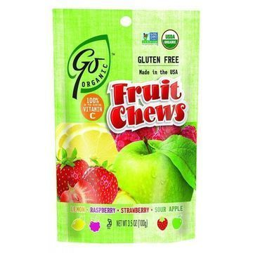 Go Organic Fruit Chews - 3.5 oz - Case of 6