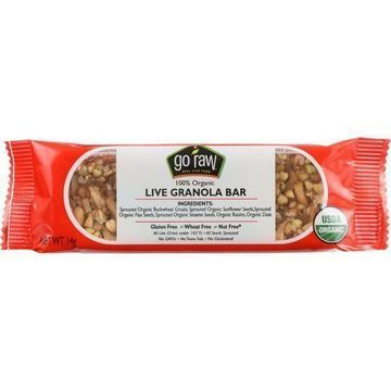 Go Raw Snack Bar - Organic - Sprouted - Raisin Crunch - .493 oz - case of 10